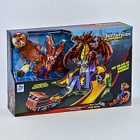 Гоночный автотрек Битва с драконом с машинками R179608