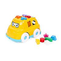 Игрушка Автобус Технок, желтый - 190500