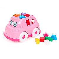 Игрушка Автобус Технок, розовый - 180009