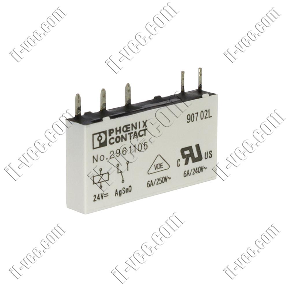 Реле Phoenix Contact REL-MR-24DC/21, 24VDC 8A/250VAC 2A/24VDC