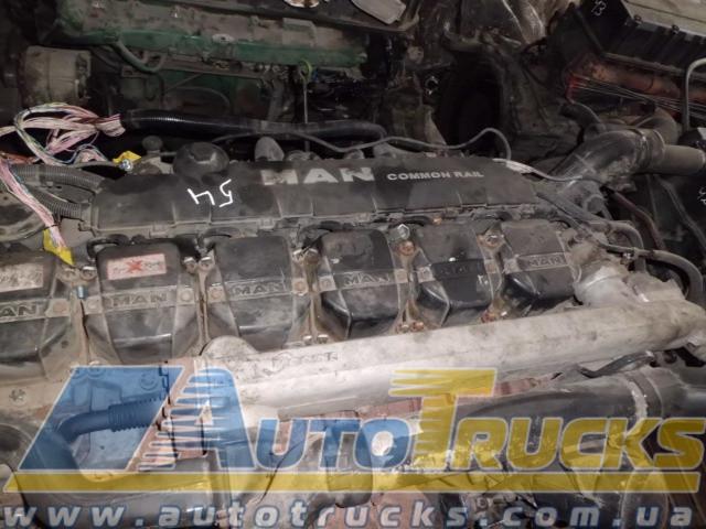 Двигатель 480 Б/у для MAN TGA (D2876LF12)