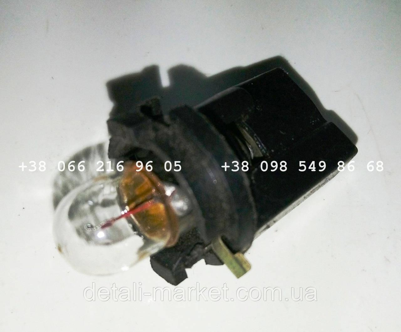 Патрон с лампой подсветки панели приборов АЗЛК 2141