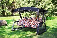 Качели садовые раскладные Мастак-Премиум с589