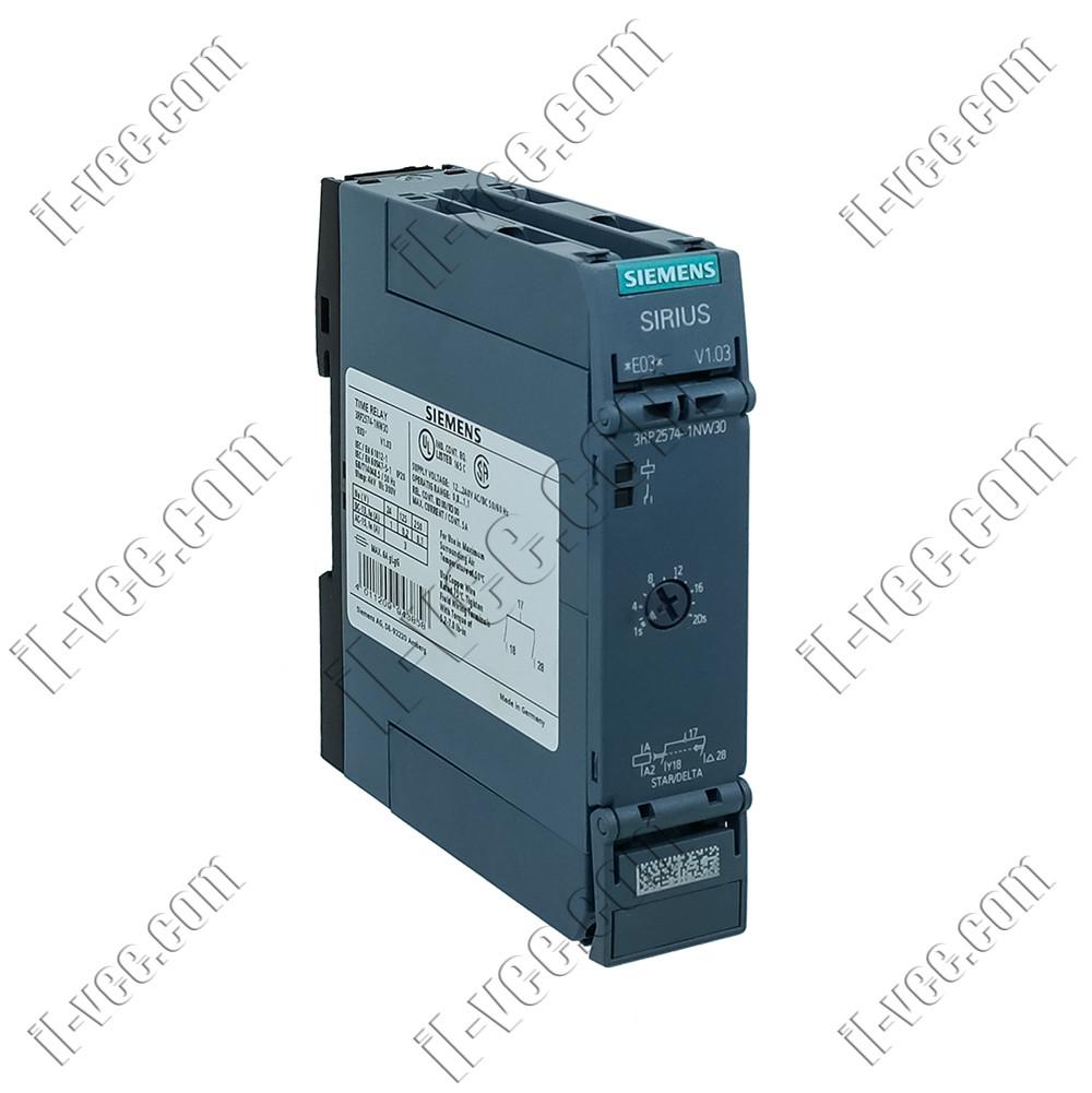 Реле часу Siemens 3RP2574-1NW30, 12..240V AC/DC, DPST(NO)