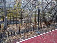 Сварной забор. Железный забор.