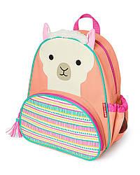 Детский рюкзак Skip Hop Zoo Pack (Zoo Little Kid Backpack) - Lama (Лама), 3+