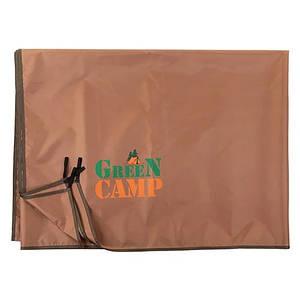 Підлогу додатковий для намету, тенту GreenCamp GC1658-3 коричневий