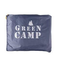 Пол дополнительный для палатки тента GreenCamp GC1668-1 серый 210*210