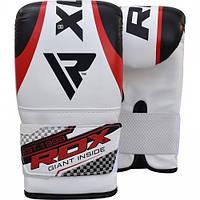 Снарядные перчатки для груши (битки) RDX Red