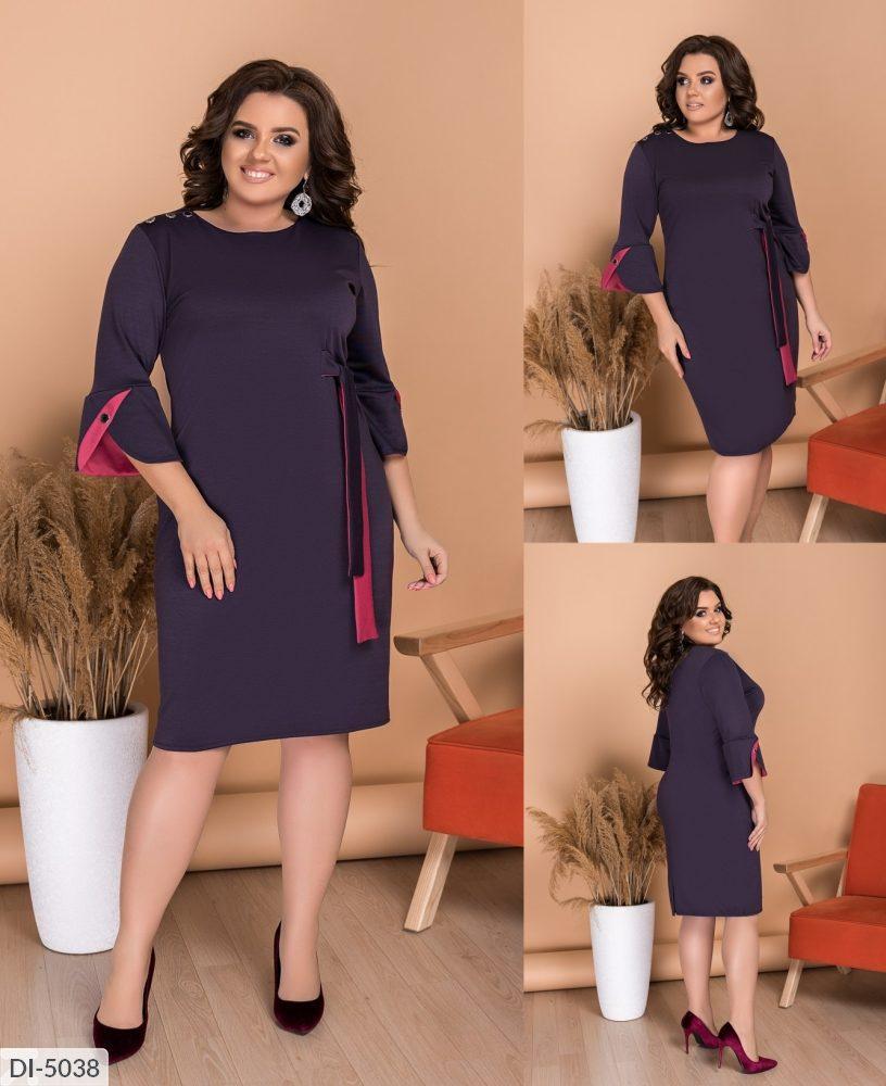 Жіноче плаття (розміри 48-62) 0229-87