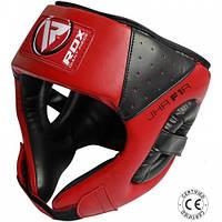 Шлемы для бокса и единоборств детский RDX Red