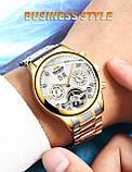 HAIQIN 8510 автоматические механические мужские часы, фото 3