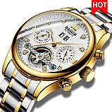 HAIQIN 8510 автоматические механические мужские часы, фото 5
