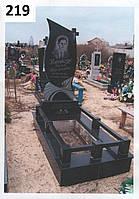 Елітний комплекс пам'ятник з огорожей на кладовище з граніту
