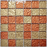Стеклянная мраморная мозаика для ванной, кухни, гостинной, магазина MAR-2011