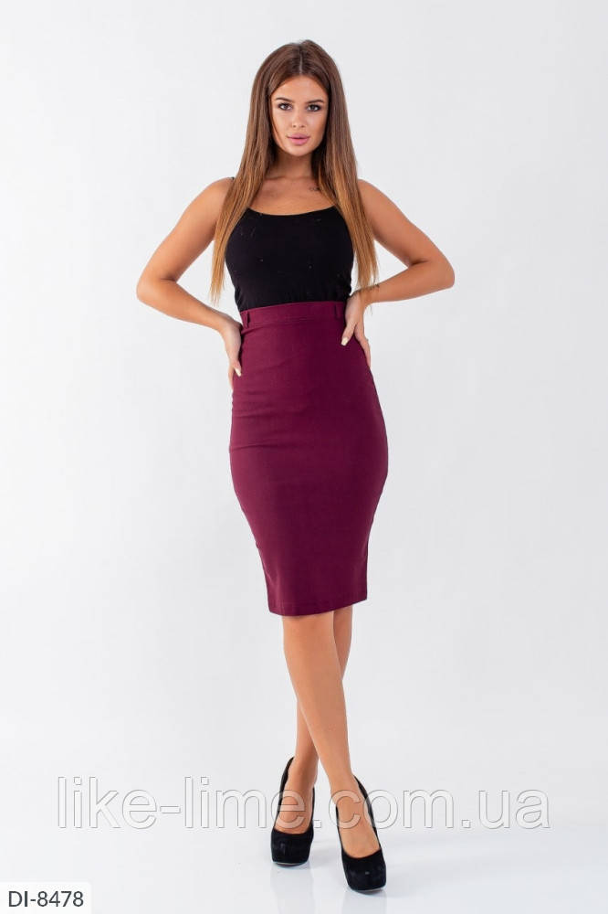 Строгая классическая юбка