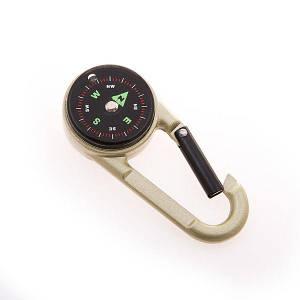 Компас магнитный с карабином D=28mm DC27T2 мини-компас для туриста