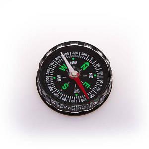 Компас магнитный D=40mm DС45A универсальный для туризму прозрачный компас на руку