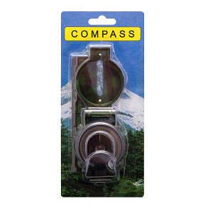 Компас жидкостный круглый 48 мм DL45-2B для туриста компас-медальон