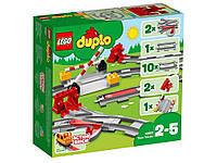 Lego Duplo - Рельсы, железнодорожные пути (Train Tracks, 23 дет), 2+ (10882)