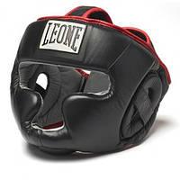 Шлемы для бокса и единоборств Leone Full Cover Black L