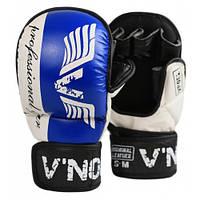 Перчатки ММА для единоборств V`Noks Lotta Blue S/M
