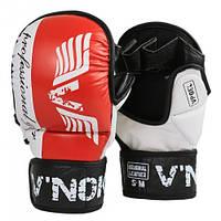 Перчатки ММА для единоборств V`Noks Lotta Red L/XL