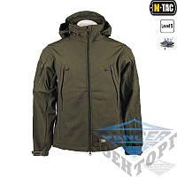 Курточка тактическая софтшелл мужская Soft shell OLIVE