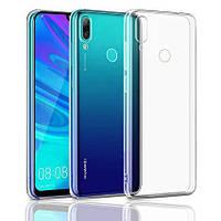 Чехол Huawei P Smart 2019 - TPU Transparent прозрачный силикон оригинал