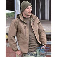 Тактическая куртка софтшелл Куртка COYOTE SOFTSHELL JACKET PCU