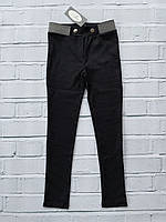 Стрейчевые трикотажные леггинсы  ( Ткань- Алекс). 134- 152 рост., фото 1