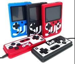 Портативная игровая консоль SUP 400 игр с джойстиком