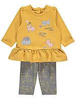 Детский костюм Meow George (Англия) р.0-3мес, фото 1