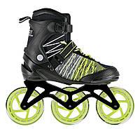 Роликовые коньки Nils Extreme NA1206 Size 43 Black-Green - 227573