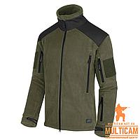 Куртка флисовая Helikon-Tex® LIBERTY Jacket - Double Fleece - Olive/Black