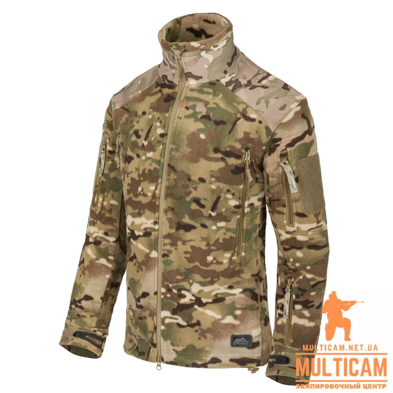 Куртка флисовая Helikon-Tex® LIBERTY Jacket - Double Fleece - Camogrom®