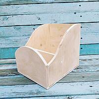 Коробочка для резинок заготовка для декупажа
