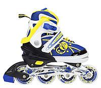 Роликовые коньки Nils Extreme NA1152A Size 31-34 Yellow - 227291
