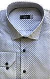 Мужская рубашка Gelix 129901 стрейчевая белая, фото 10