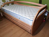 Дерев'яне ліжко з ящиками Баварія, фото 2