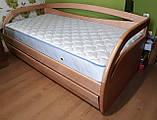 Деревянная кровать Бавария с ящиками, фото 2