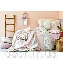Комплект постельного белья Karaca Home ранфорс подростковый Litzy