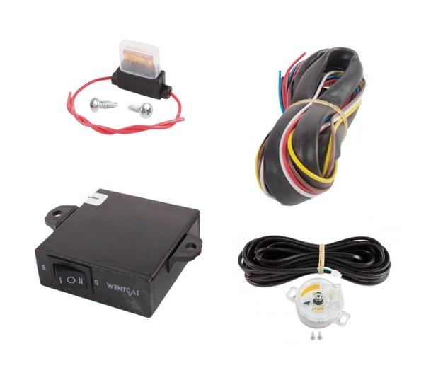 Переключатель топлива с датчиком в комплекте (инжектор)