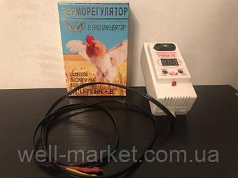 Терморегулятор для инкубатора цифровой ТЦИ - ЛИНА + В (влагомер)