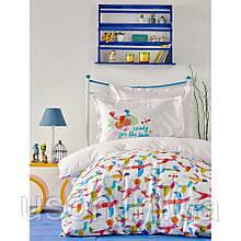 Комплект постельного белья Karaca Home ранфорс подростковый Paloma