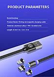 Магнитный кабель 1 метр 360° USB 2.0 Lovebay Micro USB, фото 2