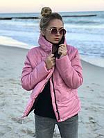 Куртка женская зимняя на змейке с капюшоном, разм.42,44,46 (6расцв.), фото 1