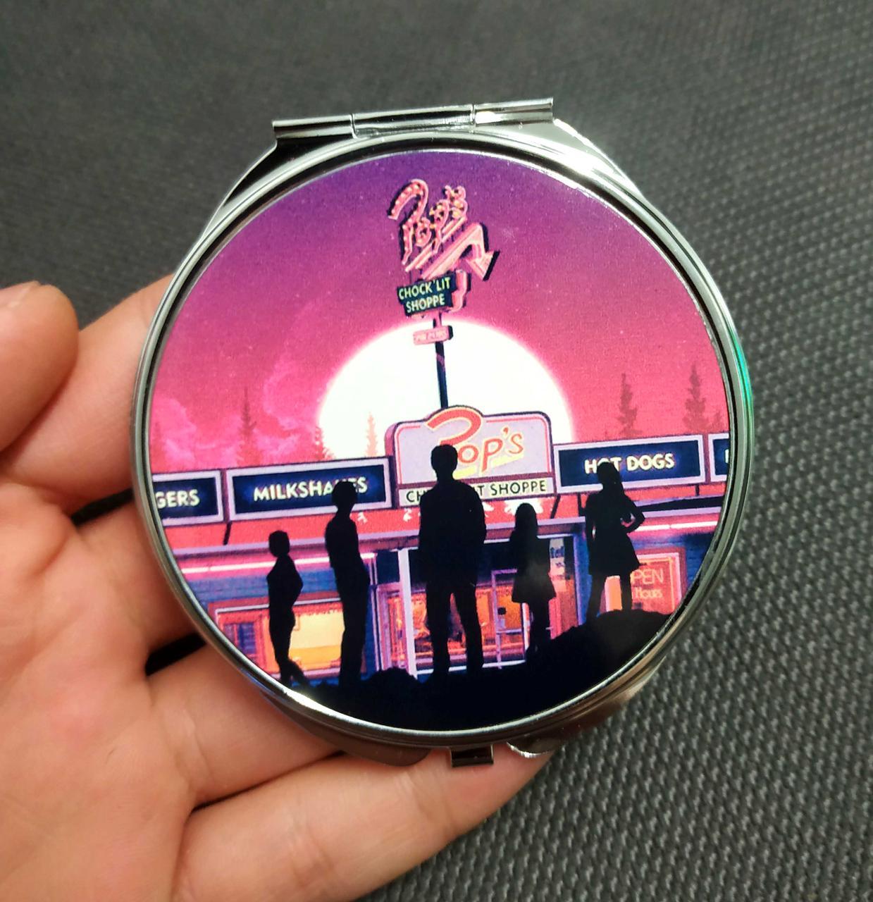 Складное карманное зеркальце Ривердэйл  Pop's / Riverdale