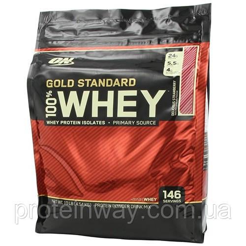 Optimum Nutrition Сывороточный протеин 100% Whey Gold Standard 4540g