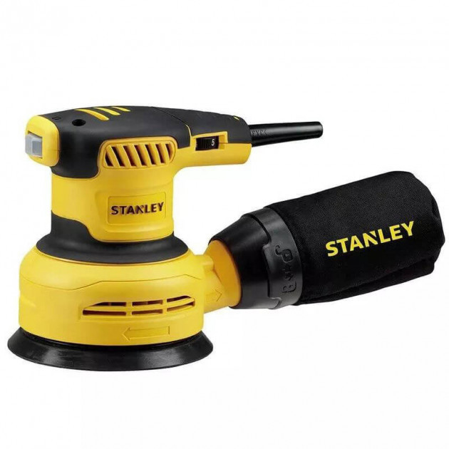 Эксцентриковая шлифмашина Stanley SS30 (300 Вт)